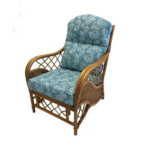NEW CUSHIONS & COVERS FOR CANE/RATTAN CONSERVATORY FURNITURE unpiped