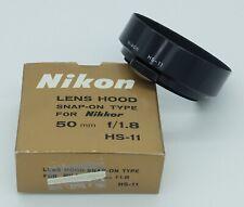 Nikon HS-11 pare soleil à pince pour 50mm F/1,8