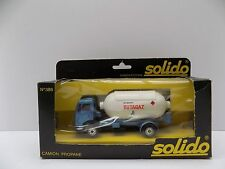 SOLIDO 386 MERCEDES CAMION PROPANE MINT BOXED