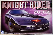 1982 Pontiac Firebird Trans Am Knight Rider K.I.T.T. Season Three Aoshima 07037