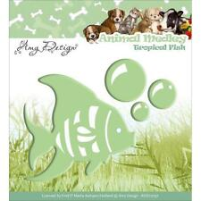 Amy Design - Tropical Fish Die - Compatible with Cuttlebug & Sizzix