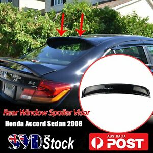 Car Top Rear Window Sunroof Visor Deflector Spoilers For Honda Accord Sedan 2008