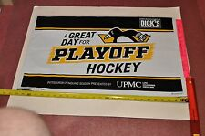 This Go Pens Pittsburgh Penguins 2017 Stanley Cup Playoffs Yard Sign.  16x26