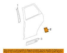Saturn GM OEM 02-05 Vue Rear Door Body Side-Lower Molding Trim Right 22699216