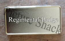 More details for army regiment cap badge printed on a usb rechargeable electronic lighter
