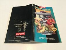 Street Fighter 2 Special Champion Edition - Sega Genesis Instruction,Manual ONLY