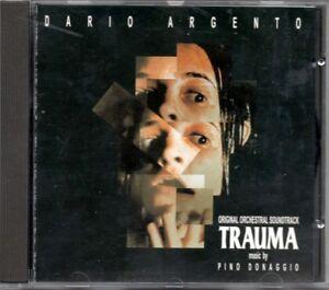 PINO DONAGGIO - TRAUMA DARIO ARGENTO COLONNA SONORA  1° ED. CD NUOVO NOT SEALED