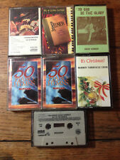 CASSETTE TAPES GOSPEL PIANO HYMNS, MORMON TABERNACLE CHOIR-CHRISTMAS