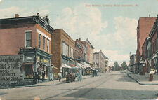 Jeanette PA * Clay Ave. Looking East  1909 * Drug Store  Westmoreland Co.