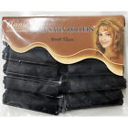 """ANNIE SILKY SATIN FOAM ROLLERS 1244, 12 Count Black Small 5/8"""""""