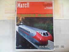 PARIS MATCH N°842 19/05/1965 TRAIN SUR AIR 400 A L'HEURE G44
