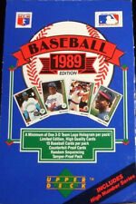 1989 Upper Deck Baseball W Final Edition Team Set Baseball Cards Pick From List
