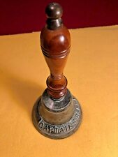 VINTAGE BRONZE CAPTAIN'S BELL,  FREE SHIPPING