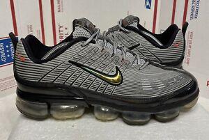 Nike Air VaporMax 360 Men's CK2718-004 Metallic Silver Orange size 12