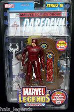 "Marvel Legends Series III (3) 6"" DAREDEVIL. New! Rare! Matt Murdock."