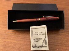 Vintage Westinghouse Wood Grain Ballpoint Pen Barlow Salm original box Nos