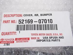 Genuine OEM Toyota 52169-07010 Rear Bumper Lower Valance Trim 2011-2012 Avalon