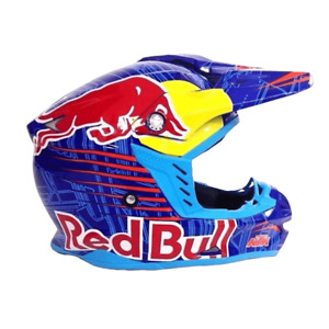 Motocross Adults Motorcycle Helmet KTM Redbull Orange Blue Red Bull