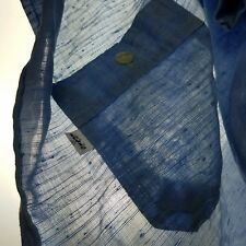 70s Vintage Levis ☆ SUPER THIN ☆ Chambray Hippie Blue Work Chore Shirt Large