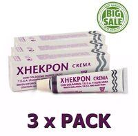 Pack 3x Xhekpon Cream Facial Neck Collagenum