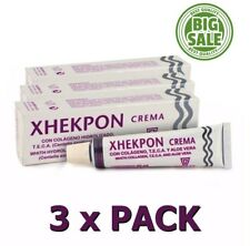 Pack 3x Xhekpon Cream Facial Neck Collagenum