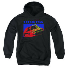 Honda Kids Hoodie Bold Civic Coupe Black Hoody
