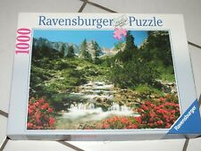 Original Ravensburger Puzzle 1000 50 x 70 cm Österreich Tirol Mieminger Kette
