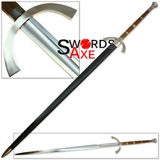 Sugoi Steel Two Handed Great Sword Functional 1060 Forged Steel Claymore Huge