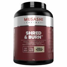 Musashi Shred and Burn Vanilla Protein Powder - 2kg