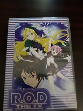 R.O.D THE TV : VOL.2 JAPAN ANIME DVD like new free post read or die manga