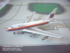 Gemini Jets United Airlines Boeing 747SP in Saul Bass Color Diecast Model 1:400
