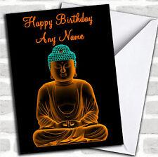Belle Bouddha Anniversaire Personnalisé carte