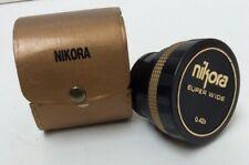 Convertidor Nikora Super amplia 0.42 X 52 mm Lente Macro Anillo de montaje Seminuevo 862Z4