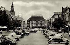 GRONINGEN Niederlande Holland ~1960 Vismarkt Parkplatz Autos Auto VW Käfer uvm.