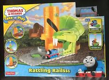 Thomas And Friends Rattling Railsss Train Track Steam Engine Toy Portable *NEW*