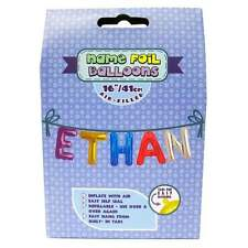 Royal County Products Name Foil Balloons - Ethan - New