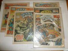 2000 AD Comic 6 Comic JOB LOT - Progs No 324 to 329 - Date 1983 - UK Paper Comic