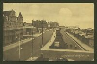 Central Parade, Bexhill on Sea, East Sussex - 1916 Vintage Printed Postcard