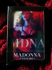 MADONNA MDNA TOUR 2012 New SEALED PLAYING CARDS very Limited Rare!