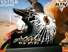 SCOTT 250 Implode Cross Helm KTM SX-F Thor NEU Enduro MTB DH L Schwarz Weiß KX-F