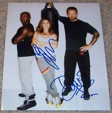 JILLIAN MICHAELS & DOLVETT QUINCE SIGNED THE BIGGEST LOSER 8x10 PHOTO w/PROOF