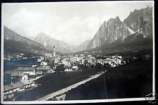 Italy~ITALIA~ 1920's CORTINA D'AMPEZZO~Dolomites~  RPPC