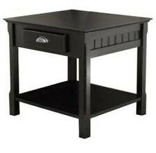 Timber, End Table with one Drawer and Shelf-Winsome NEW