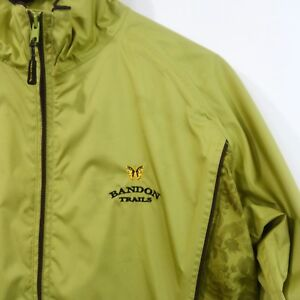 Foresters Bandon Dunes/Trails Golf Rain Jacket Ladies S Green