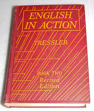 English in Action by J.C. Tressler Book 2 1935 HC Textbook Senior High School