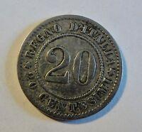 Italia/Italy/Italien - 20 Centesimi 1894 -  Cu-Ni - Umberto I. - ss-vz / vf-xf