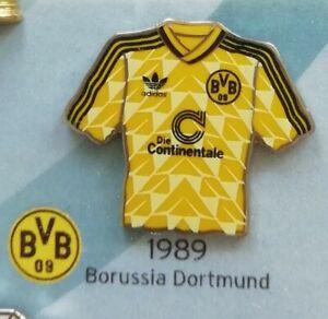 Borussia Dortmund Trikot Pin DFB Pokal Finale 1989 BVB Fussball Anstecker