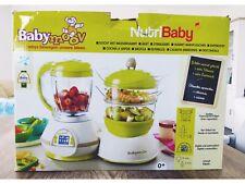 Babymoov Nutribaby Babynahrungszubereiter - Garen, Dampfen, Mixen, Sterilisieren
