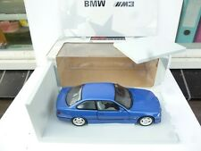 1:18 UT Models BMW E36 M3 Coupe  IN METAL BLUE EXELLENT IN BOX