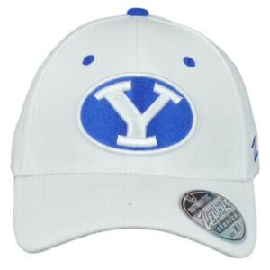 NCAA Zephyr Brigham Young Cougars BYU Flex Fit Stretch Medium Large M/L Hat Cap